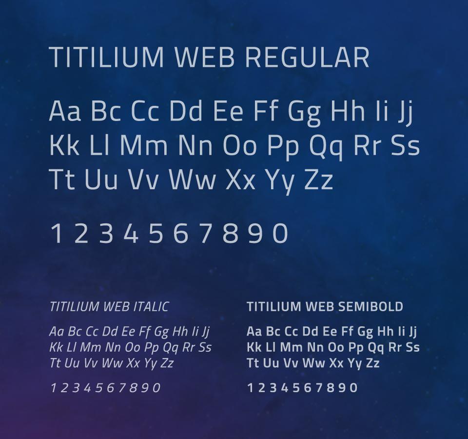 Orbitalis - Typography