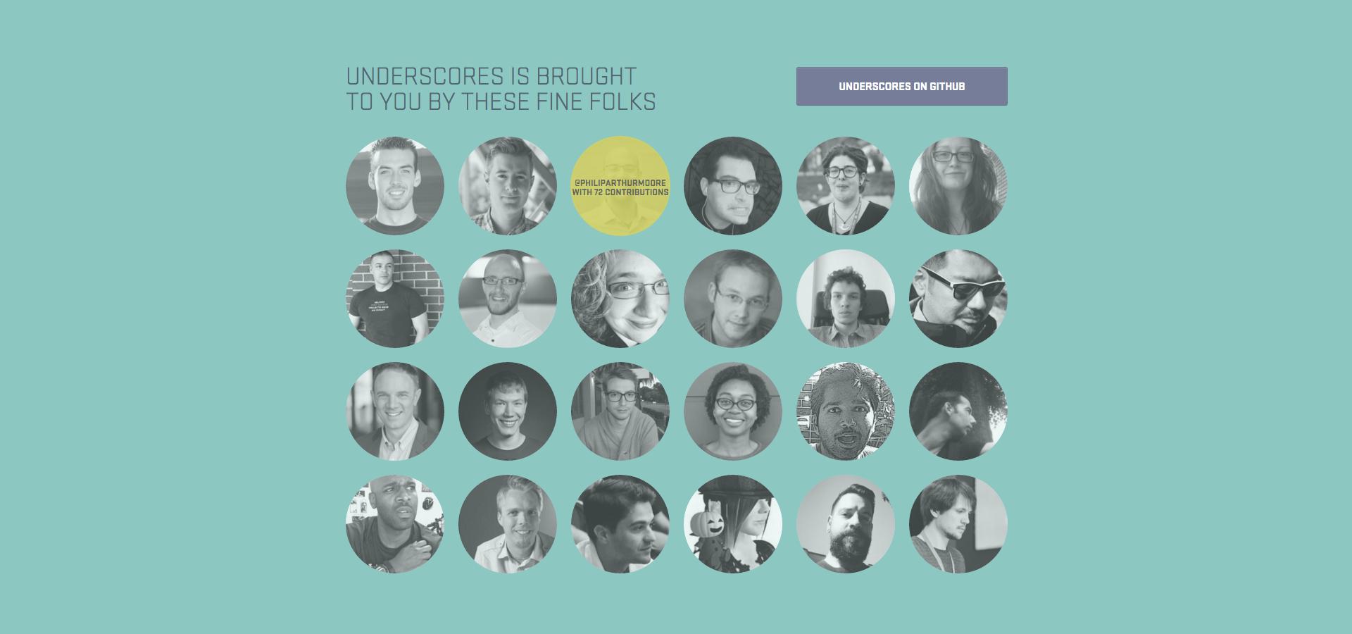 Underscores.me - Contributors